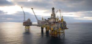 Offshore-Öl-Feld Drohnen Dienste