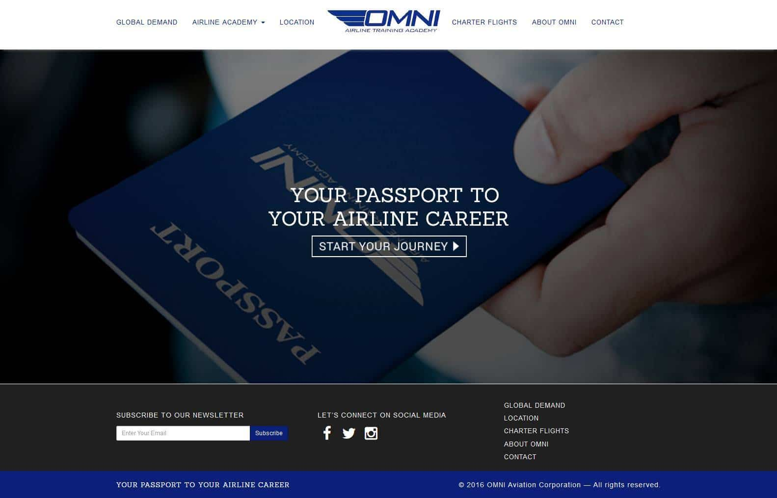 Partner Omni Aviation Corporation