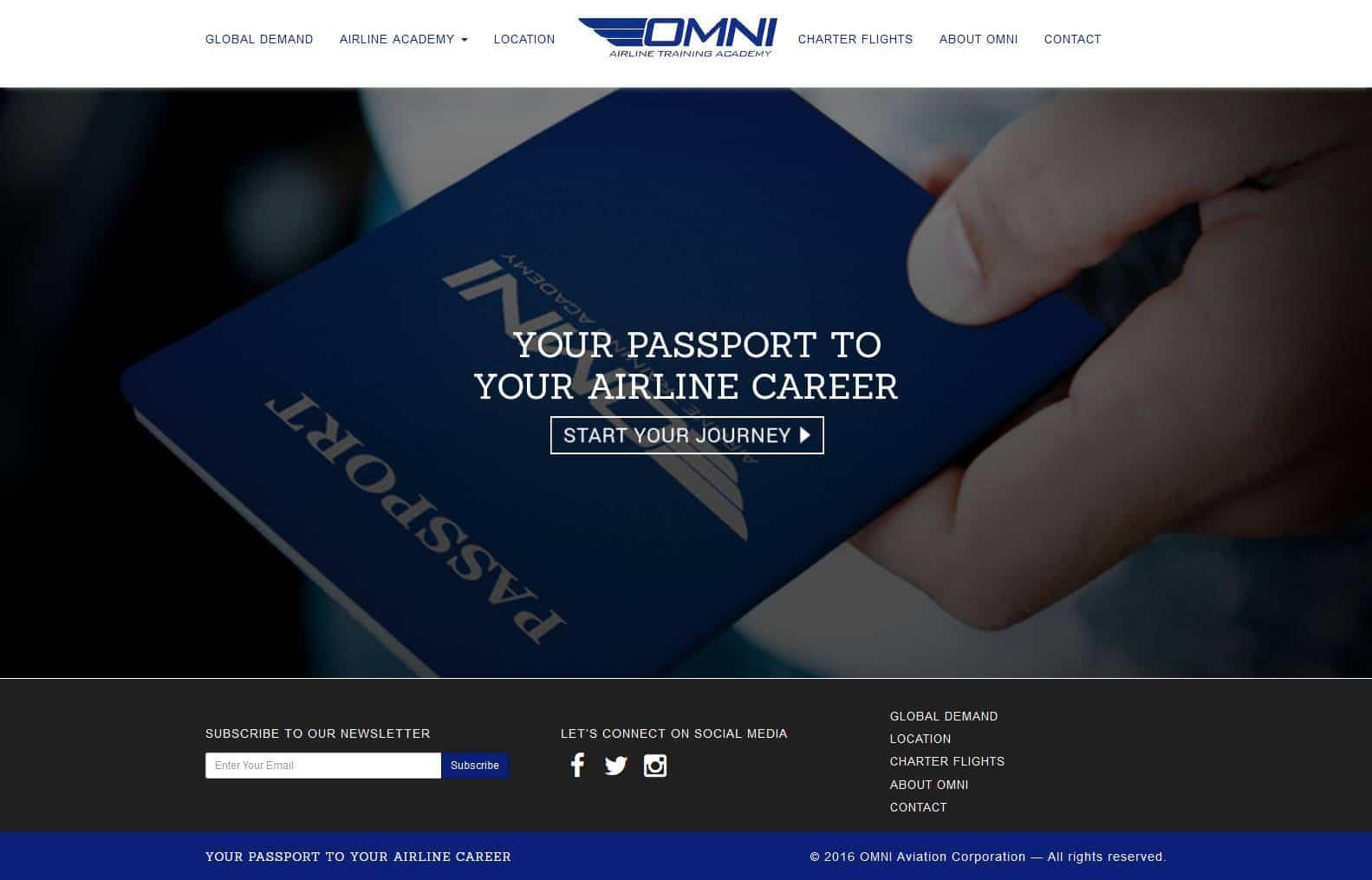 Partner Omni Aviation Corporation