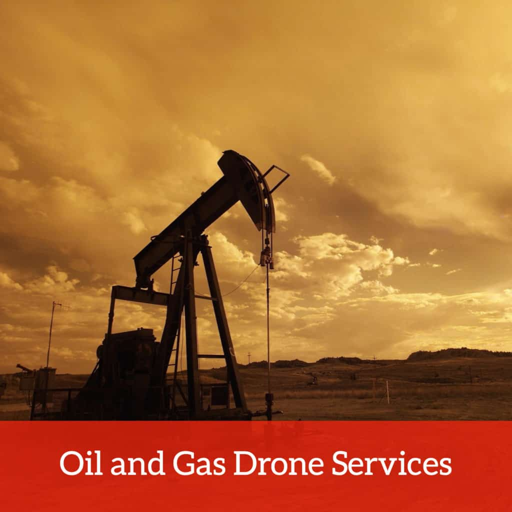 Oil and gas drone services
