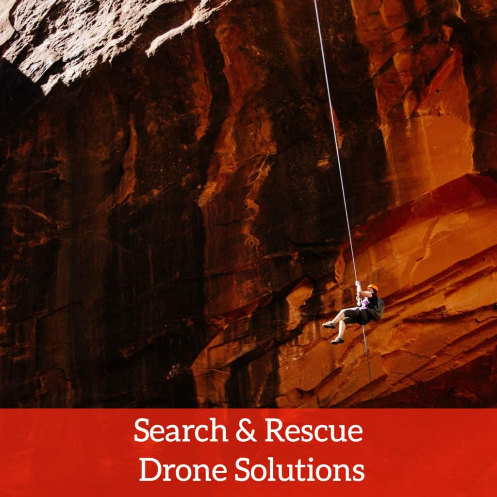Search and rescue drone solutions