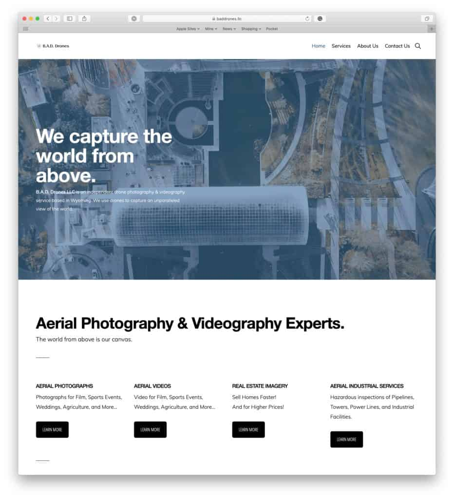 baddrones aerial photography and videography 932x1024 - Our Partners