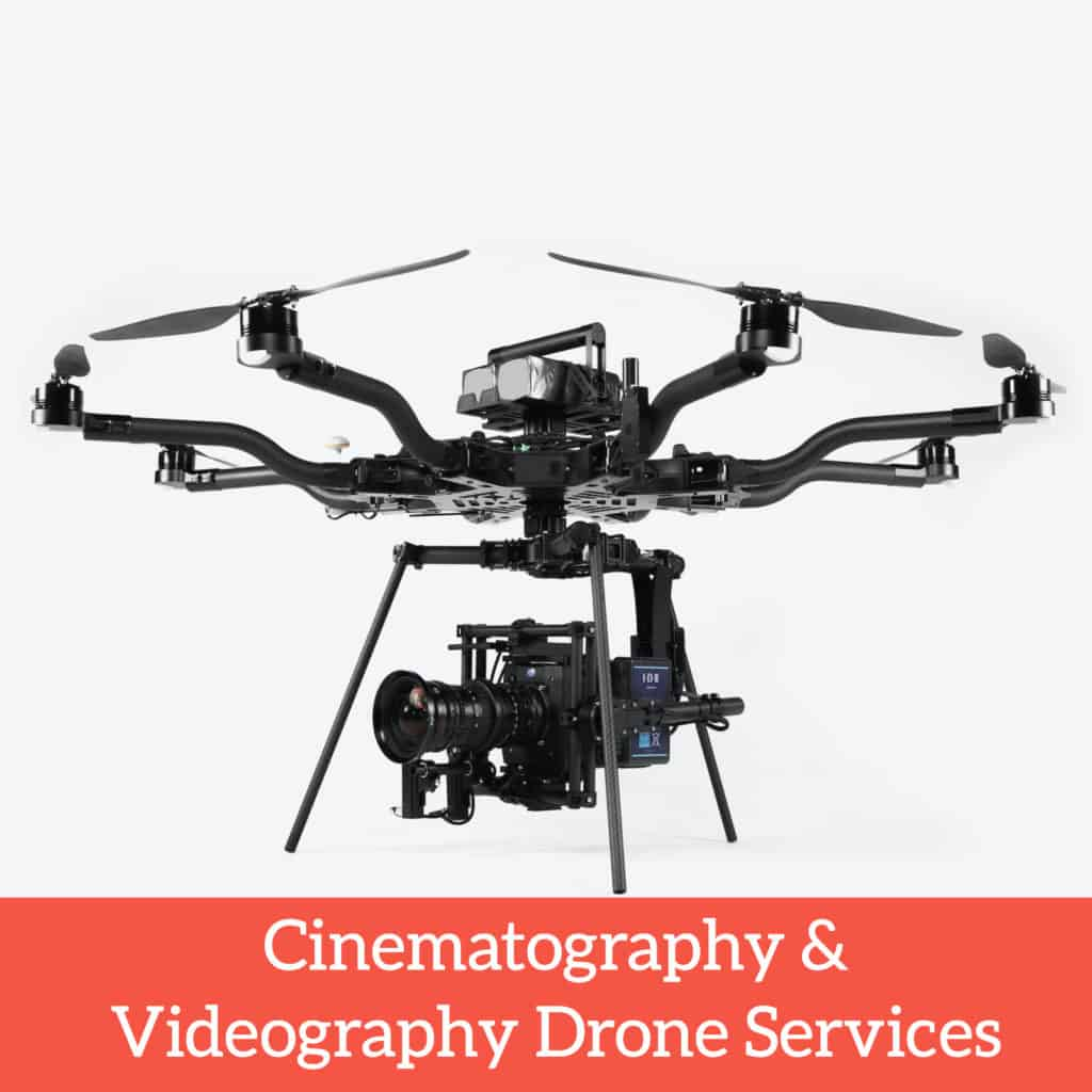 cinematography and videography drone services