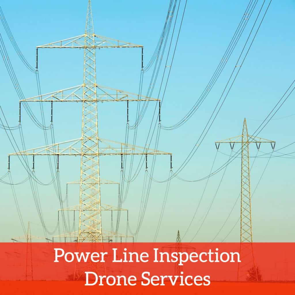power line inspection drone services