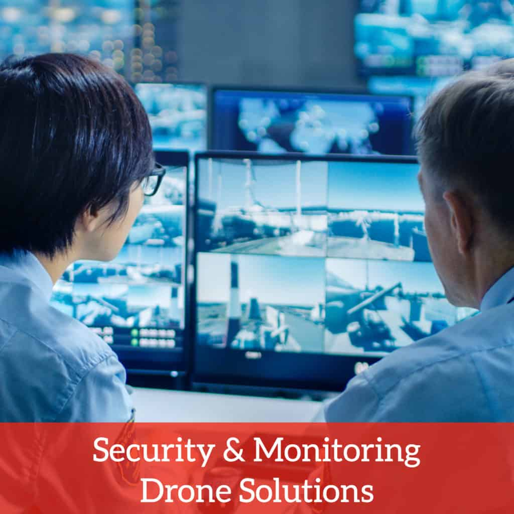 security and monitoring drone solutions