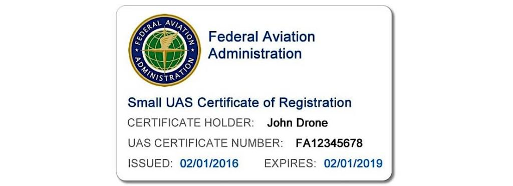 FAA Drone Registrations