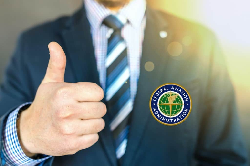 FAA Waiver Approvals Thumbs Up