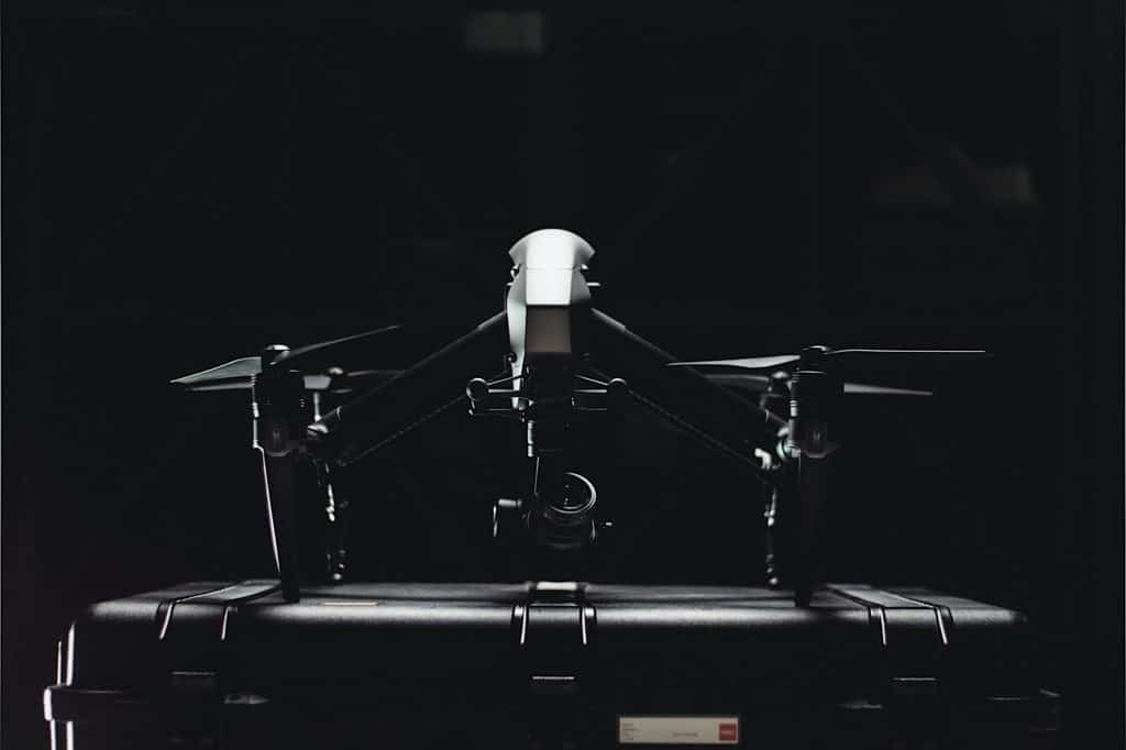 Commercial drones used in thermal inspections